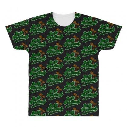 Cafe Tropical All Over Men's T-shirt Designed By Meganphoebe