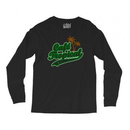 Cafe Tropical Long Sleeve Shirts Designed By Meganphoebe