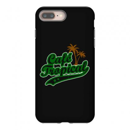 Cafe Tropical Iphone 8 Plus Case Designed By Meganphoebe