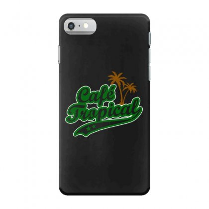 Cafe Tropical Iphone 7 Case Designed By Meganphoebe