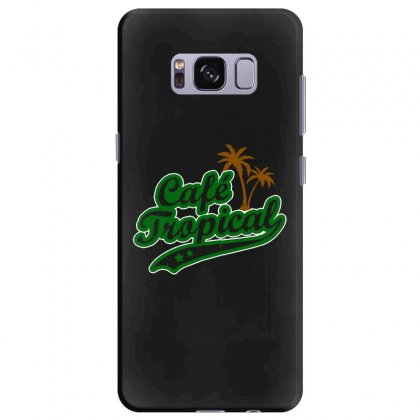 Cafe Tropical Samsung Galaxy S8 Plus Case Designed By Meganphoebe