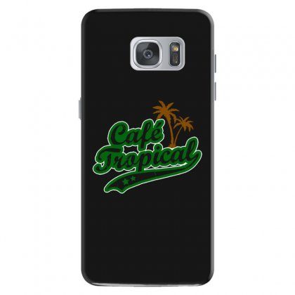 Cafe Tropical Samsung Galaxy S7 Case Designed By Meganphoebe