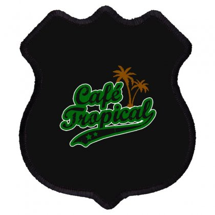 Cafe Tropical Shield Patch Designed By Meganphoebe