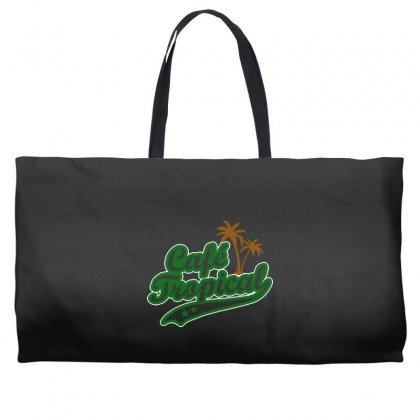 Cafe Tropical Weekender Totes Designed By Meganphoebe