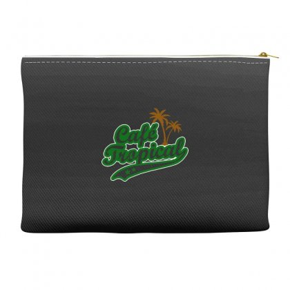 Cafe Tropical Accessory Pouches Designed By Meganphoebe
