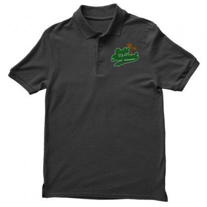Cafe Tropical Men's Polo Shirt Designed By Meganphoebe
