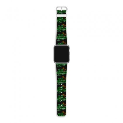 Cafe Tropical Apple Watch Band Designed By Meganphoebe