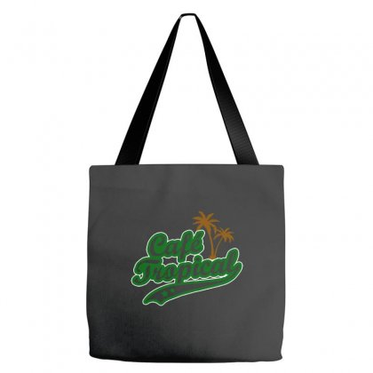 Cafe Tropical Tote Bags Designed By Meganphoebe