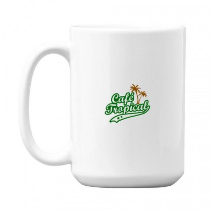 Cafe Tropical 15 Oz Coffe Mug Designed By Meganphoebe