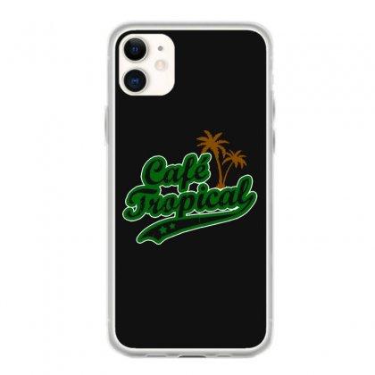 Cafe Tropical Iphone 11 Case Designed By Meganphoebe