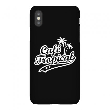 Cafe Tropical In White Iphonex Case Designed By Meganphoebe