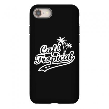 Cafe Tropical In White Iphone 8 Case Designed By Meganphoebe