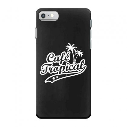 Cafe Tropical In White Iphone 7 Case Designed By Meganphoebe