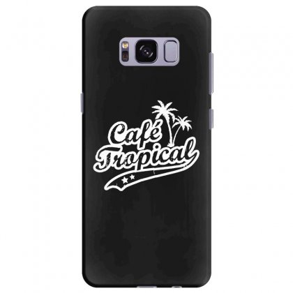 Cafe Tropical In White Samsung Galaxy S8 Plus Case Designed By Meganphoebe