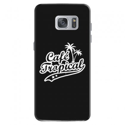 Cafe Tropical In White Samsung Galaxy S7 Case Designed By Meganphoebe