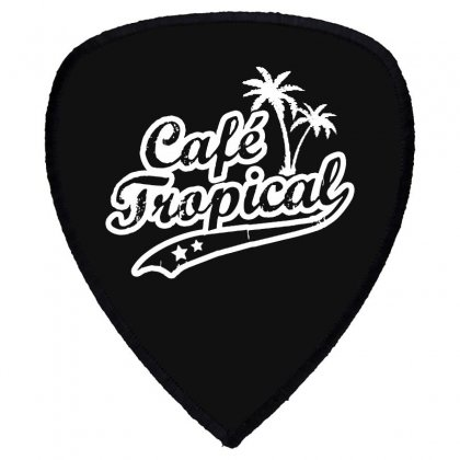 Cafe Tropical In White Shield S Patch Designed By Meganphoebe