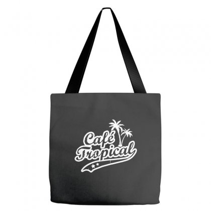 Cafe Tropical In White Tote Bags Designed By Meganphoebe