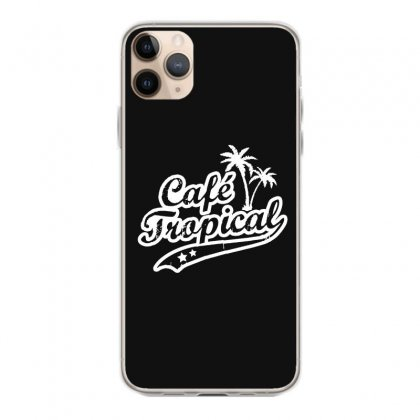 Cafe Tropical In White Iphone 11 Pro Max Case Designed By Meganphoebe