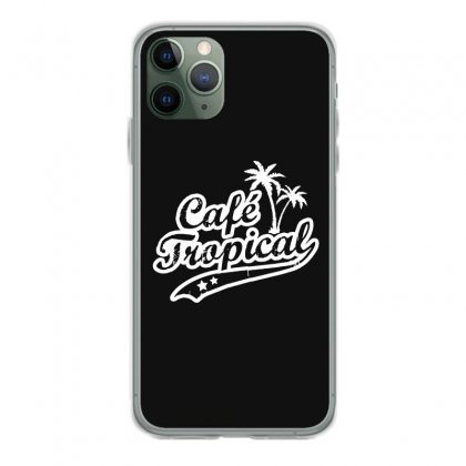 Cafe Tropical In White Iphone 11 Pro Case Designed By Meganphoebe