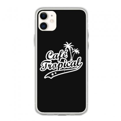 Cafe Tropical In White Iphone 11 Case Designed By Meganphoebe