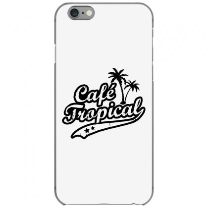 Cafe Tropical In Black Iphone 6/6s Case Designed By Meganphoebe