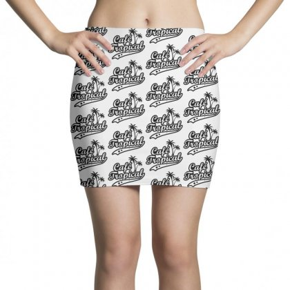Cafe Tropical In Black Mini Skirts Designed By Meganphoebe