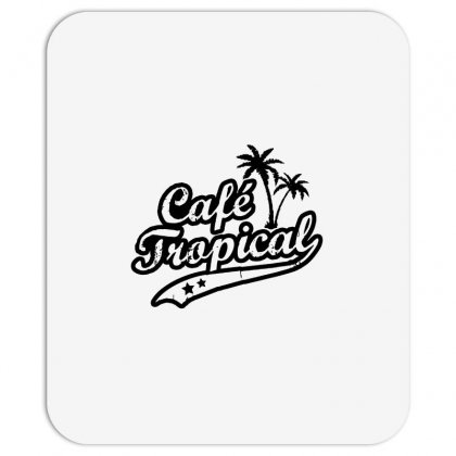 Cafe Tropical In Black Mousepad Designed By Meganphoebe