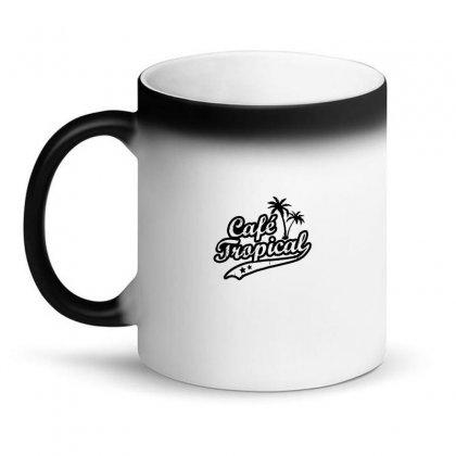Cafe Tropical In Black Magic Mug Designed By Meganphoebe