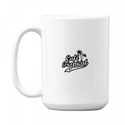 Cafe Tropical In Black 15 Oz Coffe Mug Designed By Meganphoebe