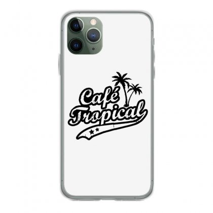 Cafe Tropical In Black Iphone 11 Pro Case Designed By Meganphoebe