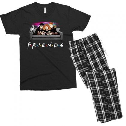 Friends   Harry Potter Family Witch Men's T-shirt Pajama Set Designed By Meganphoebe