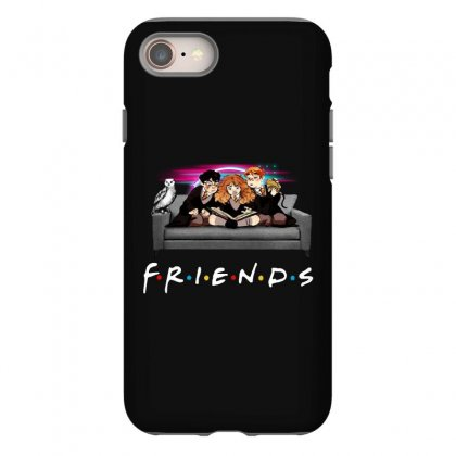 Friends   Harry Potter Family Witch Iphone 8 Case Designed By Meganphoebe