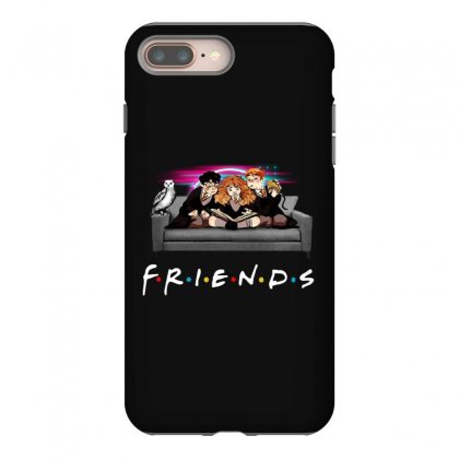 Friends   Harry Potter Family Witch Iphone 8 Plus Case Designed By Meganphoebe