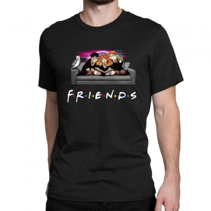 Friends   Harry Potter Family Witch Classic T-shirt Designed By Meganphoebe