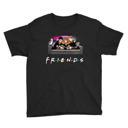 Friends   Harry Potter Family Witch Youth Tee Designed By Meganphoebe