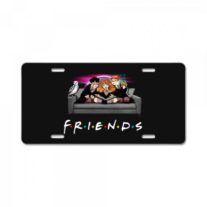 Friends   Harry Potter Family Witch License Plate Designed By Meganphoebe