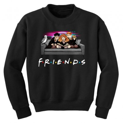 Friends   Harry Potter Family Witch Youth Sweatshirt Designed By Meganphoebe
