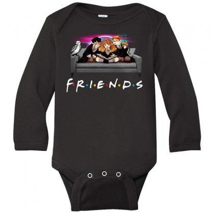 Friends   Harry Potter Family Witch Long Sleeve Baby Bodysuit Designed By Meganphoebe