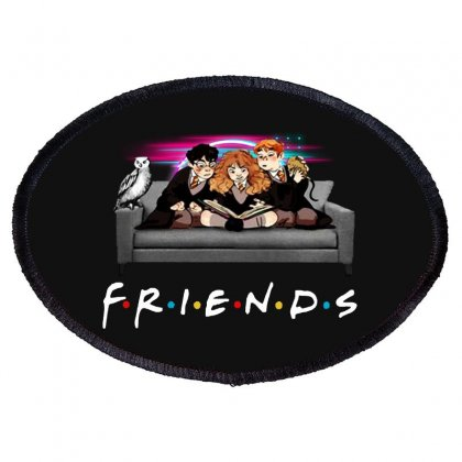 Friends   Harry Potter Family Witch Oval Patch Designed By Meganphoebe