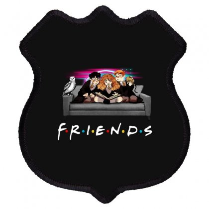Friends   Harry Potter Family Witch Shield Patch Designed By Meganphoebe