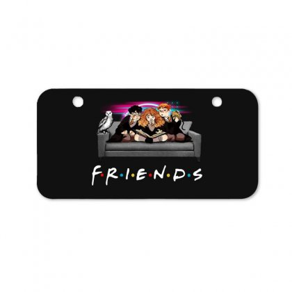 Friends   Harry Potter Family Witch Bicycle License Plate Designed By Meganphoebe
