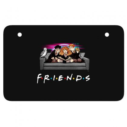 Friends   Harry Potter Family Witch Atv License Plate Designed By Meganphoebe