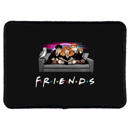 Friends   Harry Potter Family Witch Rectangle Patch Designed By Meganphoebe