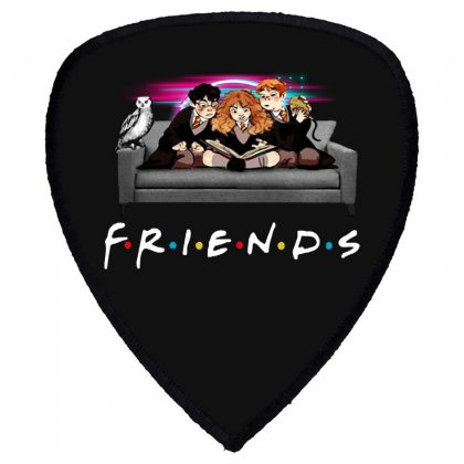 Friends   Harry Potter Family Witch Shield S Patch Designed By Meganphoebe