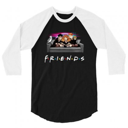 Friends   Harry Potter Family Witch 3/4 Sleeve Shirt Designed By Meganphoebe