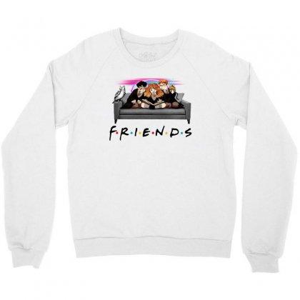 Friends   Harry Potter Family Witch Fan Art Crewneck Sweatshirt Designed By Meganphoebe
