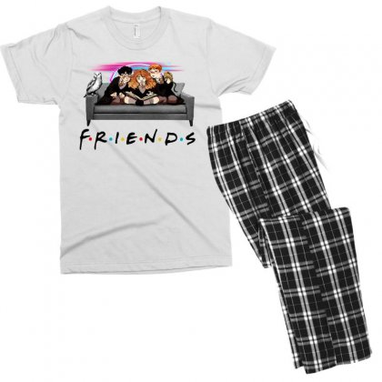 Friends   Harry Potter Family Witch Fan Art Men's T-shirt Pajama Set Designed By Meganphoebe