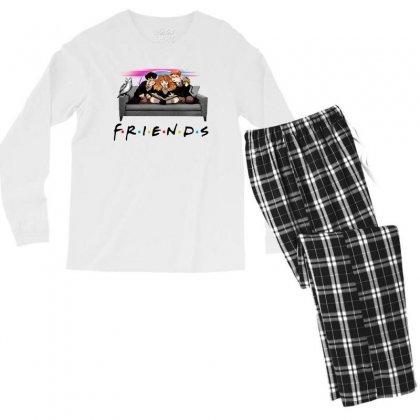 Friends   Harry Potter Family Witch Fan Art Men's Long Sleeve Pajama Set Designed By Meganphoebe