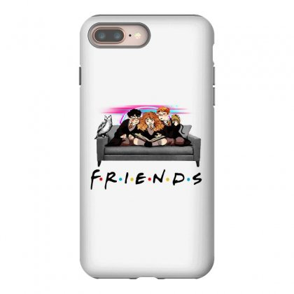 Friends   Harry Potter Family Witch Fan Art Iphone 8 Plus Case Designed By Meganphoebe