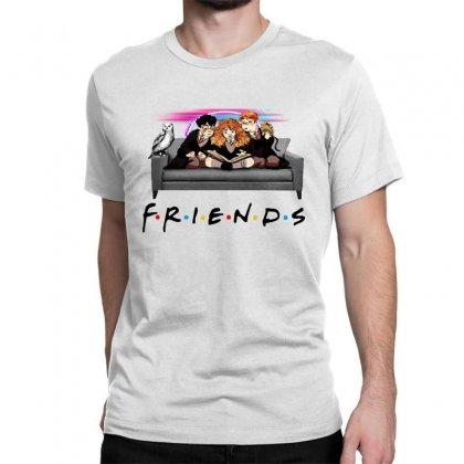 Friends   Harry Potter Family Witch Fan Art Classic T-shirt Designed By Meganphoebe